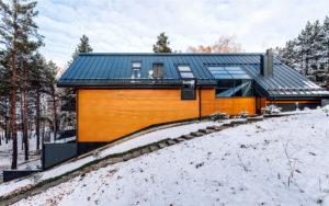 Большой загородный дом в скандинавском стиле - фото (2)