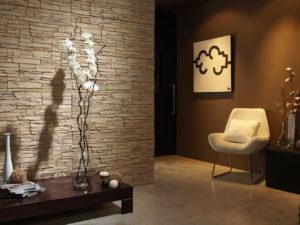 Минимализм в интерьере + декоративный камень