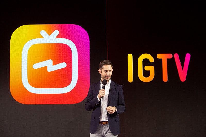 Представлена презентация IGTV «width =« 800 »height =« 533 »/>    <figcaption> Вот как выглядит новый значок приложения IGTV, представленный генеральным директором Instagram Кевином Систромом. Через Instagram. </figcaption></figure> <p> IGTV поставляется как автономное приложение и как интеграция в Instagram. Чтобы начать использовать IGTV, вам не нужно создавать отдельную учетную запись, но вам нужно загрузить новое приложение IGTV. «вы вошли в основное приложение (и вы загрузили последнюю версию), вы сможете просто нажать« продолжить »с существующей учетной записью. Приложение вернет вас к рекомендованным видео, где вы можете нажать на ваш профиль pic в углу, чтобы создать ваш канал IGTV. Возможно, вам захочется оптимизировать биографию Instagram (и, возможно, даже ваше имя), поскольку в новом приложении видны только первые две строки. </p> <h4><span id=
