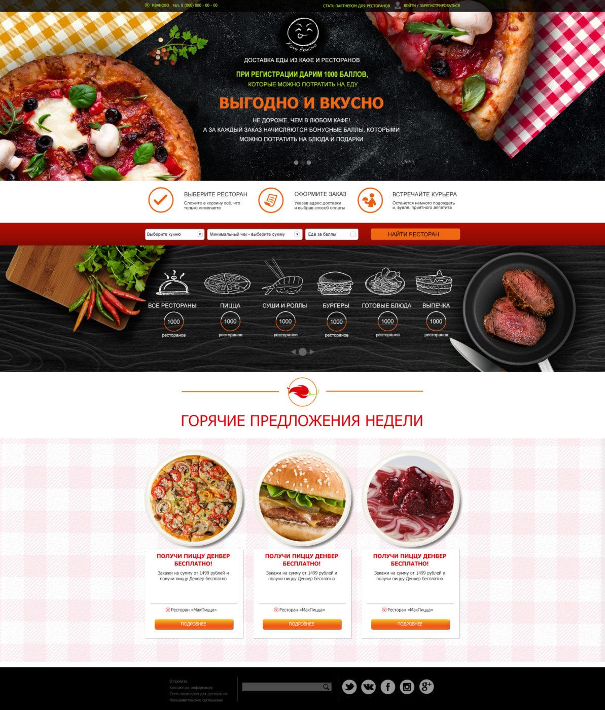 Создание сайта для ресторана московия страховая компания официальный сайт спб