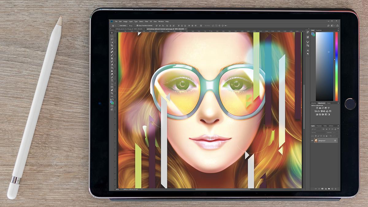 Рисунок на планшете в фотошопе