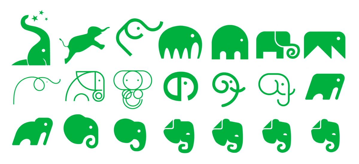 Новый логотип и идентификация для Evernote от DesignStudio и In-