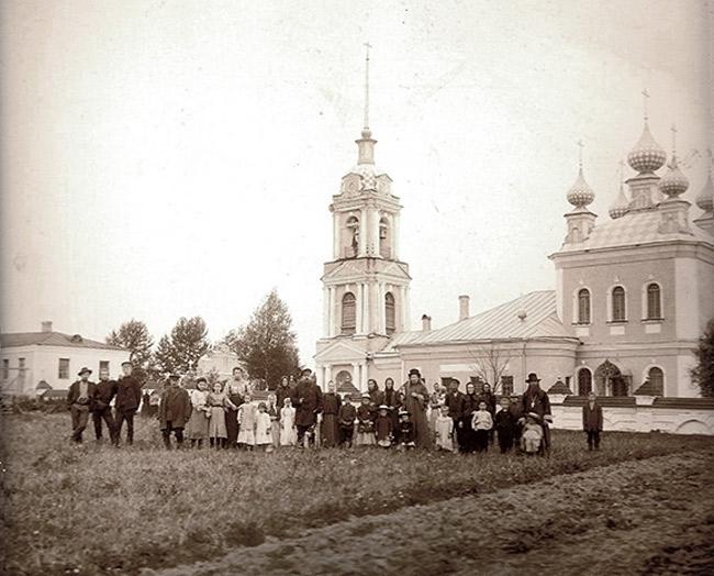 Церковь Ризположения, фотография начала XX в.