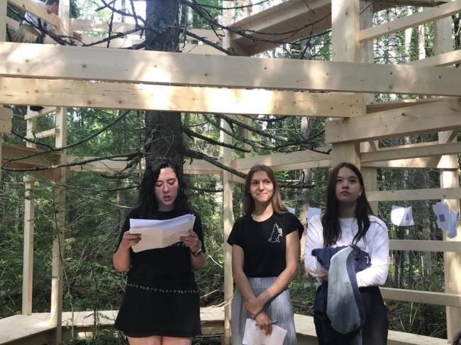 «Леса в лесу» / команда ЛЕСОПОВАЛ
