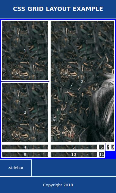 Разработка мобильной раскладки «width =« 385 »height =« 638 »class =« aligncenter size-full wp-image-167669 »/> </p> <p> Обратите внимание, что ширина боковой панели не заполняет доступную ширину. Это вызвано резервным кодом, поэтому все, что нам нужно сделать, это переопределить ширину <code>: 6.3rem; </code> пара с <code> width: auto; </code> в браузерах, поддерживающих Grid: </p> <pre> <code class=