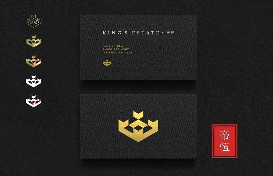 """King's Estate Asia identity pack """"width ="""" 2035 """"height ="""" 1312"""