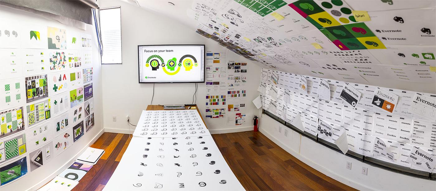 Новый логотип и личность для Evernote by DesignStudio и In-house