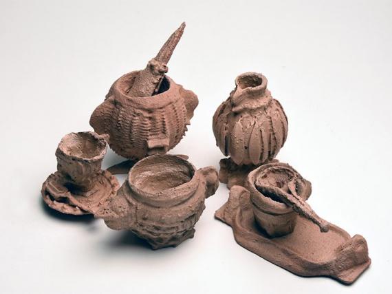 Жан-Мария делла Ратта напечатала артефакты на 3D-принтере