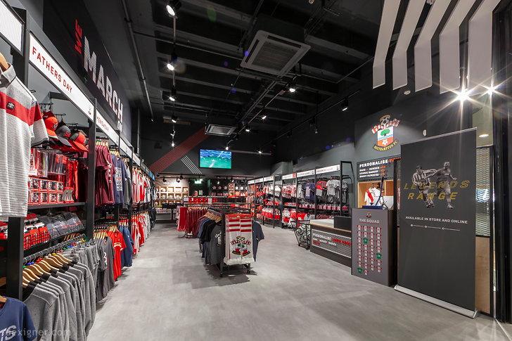 Саутгемптонский футбольный клуб Saints Store 02