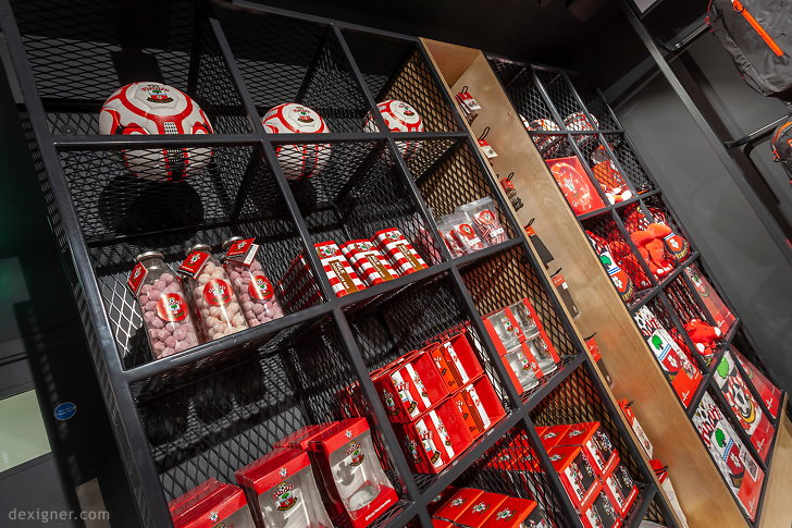 Саутгемптонский футбольный клуб Saints Store 06