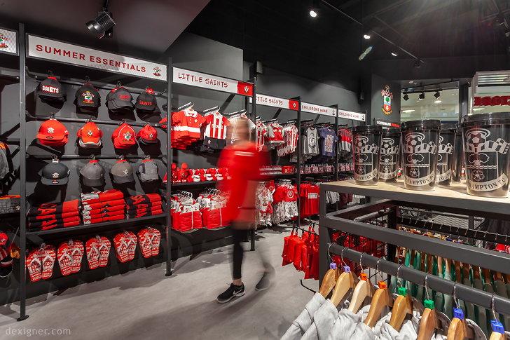 Саутгемптонский футбольный клуб Saints Store 05