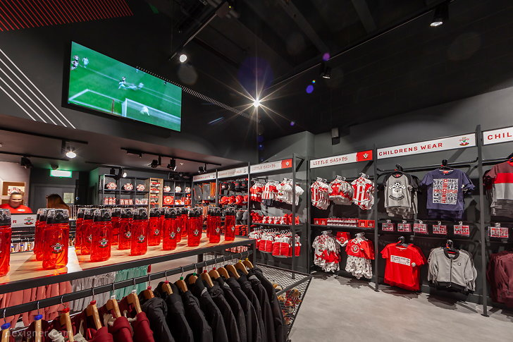 Саутгемптонский футбольный клуб Saints Store 04