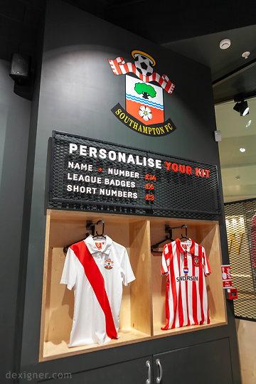 Саутгемптонский футбольный клуб Saints Store 07