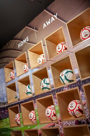 Саутгемптонский футбольный клуб Saints Store 08