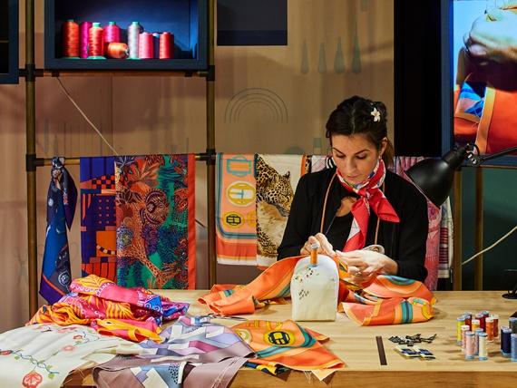 В Москве пройдет выставка «Hermès за кулисами»