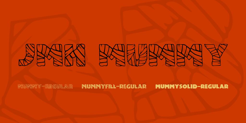 JMH Mummy Font Family