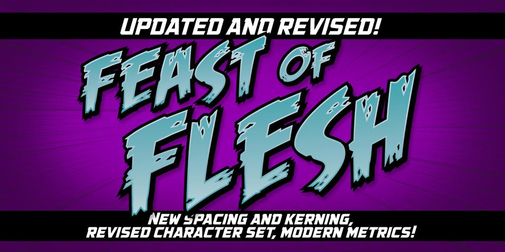 Feast of Flesh BB Font Family