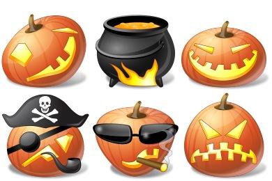 Vista Halloween Icons