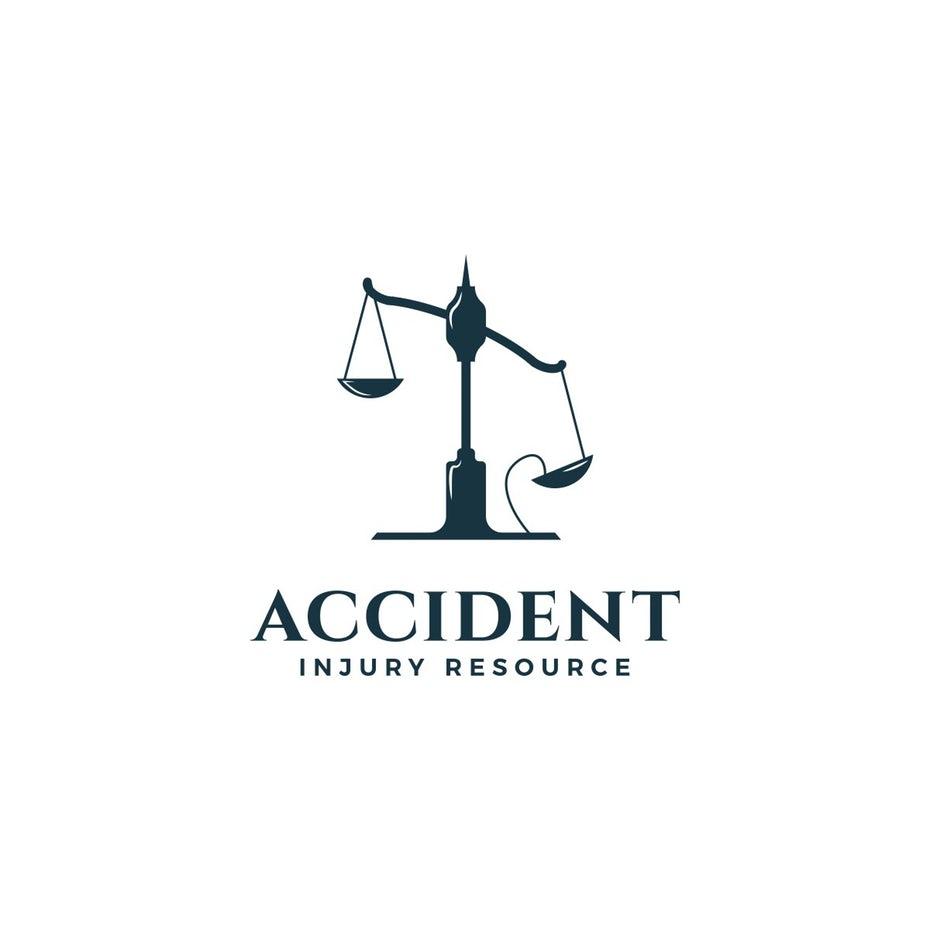 Логотип страхования от несчастных случаев