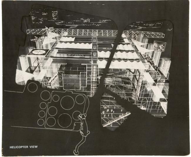 Седрик Прайс. Дворец развлечений. Проект. Из собрания Канадского центра архитектуры (Монреаль)