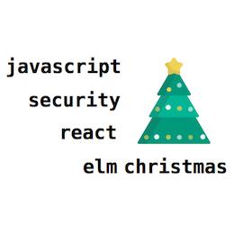 Реакт, JavaScript, безопасность и Рождество в снегу