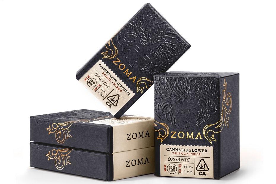 Zoma Cannabis сложная упаковка