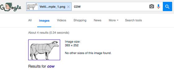 Результаты поиска для коровы