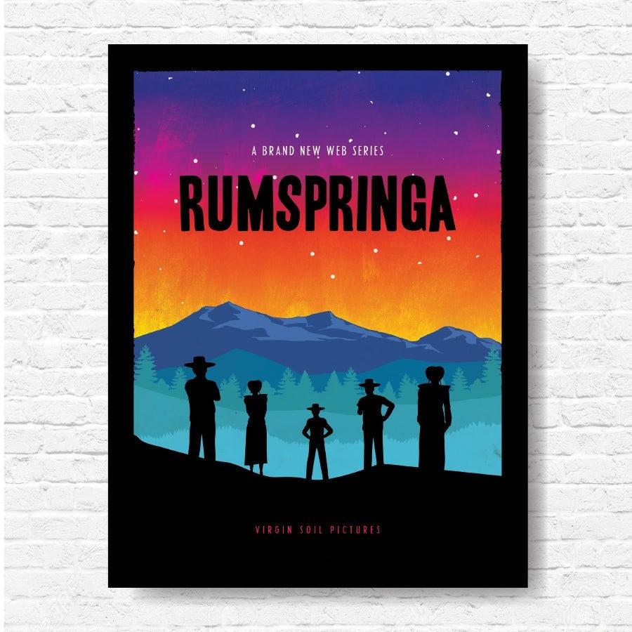 "Дизайн плаката Rumspringa ""width ="" 900 ""height ="" 900"