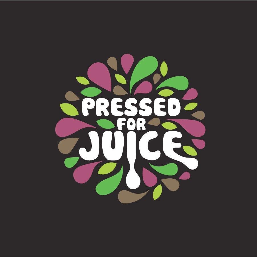Отжатый для логотипа сока