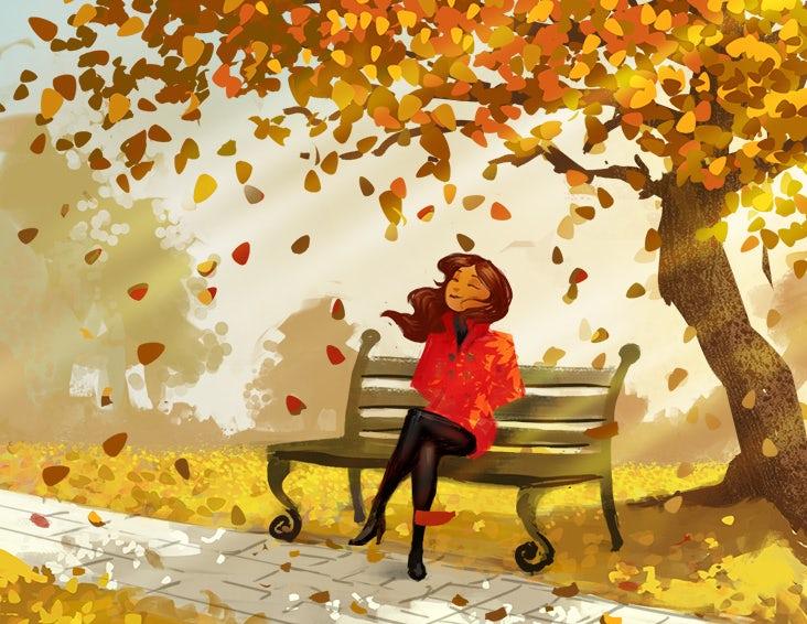 Женщина наслаждается осенними листьями illustration &quot;width =&quot; 732 &quot;height =&quot; 566 &quot;/&gt;    <figcaption> Женщина наслаждается осенними листьями иллюстрации MWart </figcaption></figure> <p> Если вы хотите что-то продать, Начните с нацеливания на лимбическую систему &#8212; эмоциональную часть мозга, а не рациональную часть. Именно здесь мы решаем, на что тратить свое время, внимание и доллары. Поэтому, прежде чем приступить к цитированию статистики, нарисуйте картину. </p> <p> Пусть ваши зрители увидят, что они достигают цели, которой вы помогаете им достичь. Пусть они увидят себя за рулем в дорогой машине с опущенным верхом. Сделайте так, чтобы они увидели себя на пляже, поворачивая головы жестким прессом. </p> <p> Сначала обратитесь к эмоциям, а затем предоставьте рациональные, достоверные подтверждающие доказательства. </p> <h3><span id=