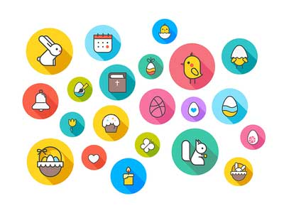 Easter-and-spring-themed-icons-by-Arthur-Avakyan