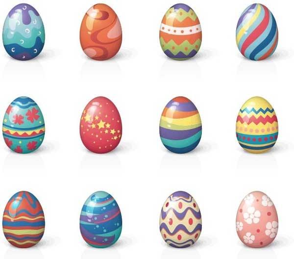Set-of-twelve-easter-eggs