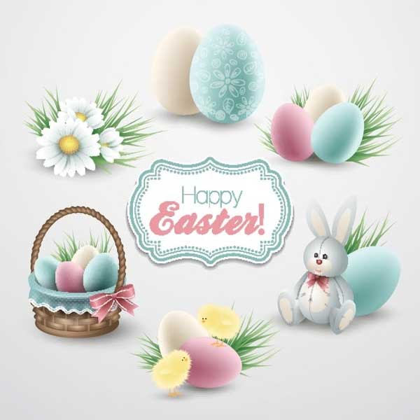 Free-vector-colorful-vintage-style-easter-icons