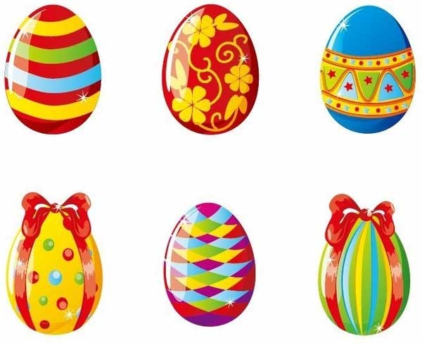 Colorful-Easter-Eggs-Vector-Illustration