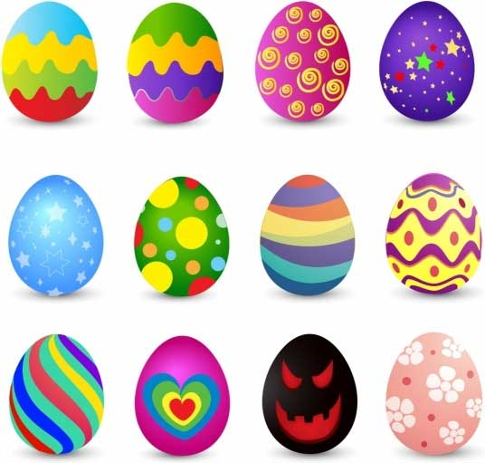 Easter-Eggs-Vector-Free