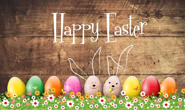 Happy-easter-card-vector-design-with-colorful-eggs