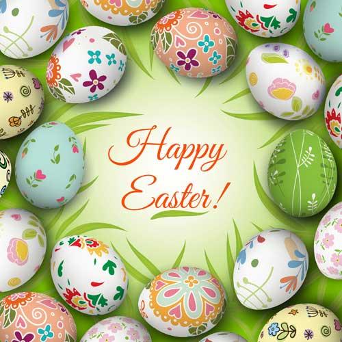 Floral-easter-egg-background-vector