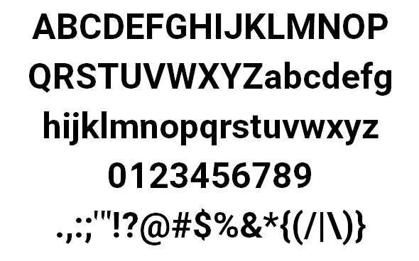 Asimov-font