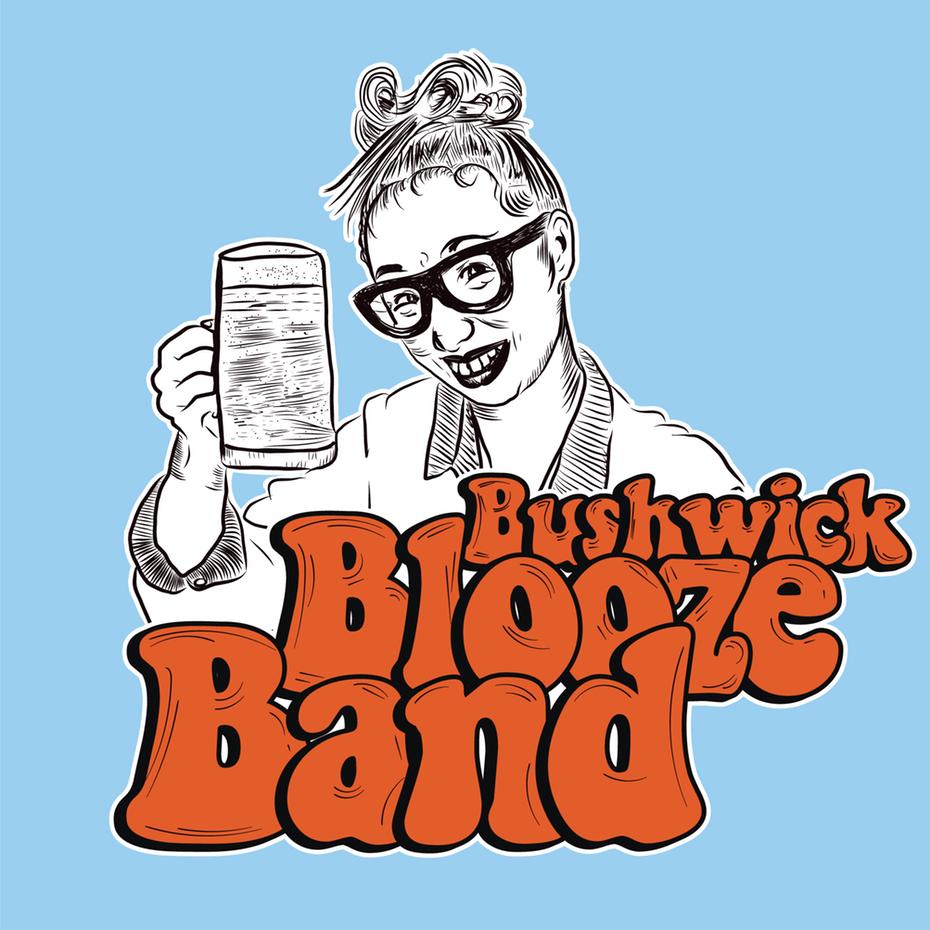 Логотип Bushwick Blooze Band