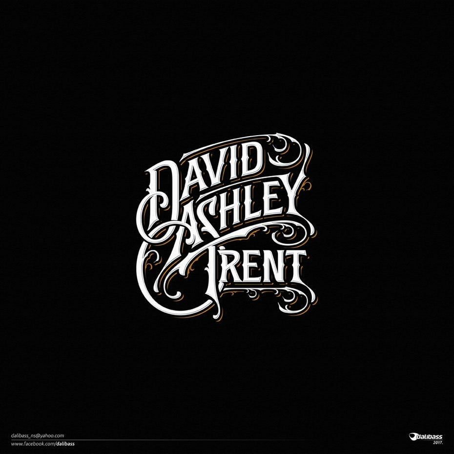 Логотип группы Дэвида Эшли Трента