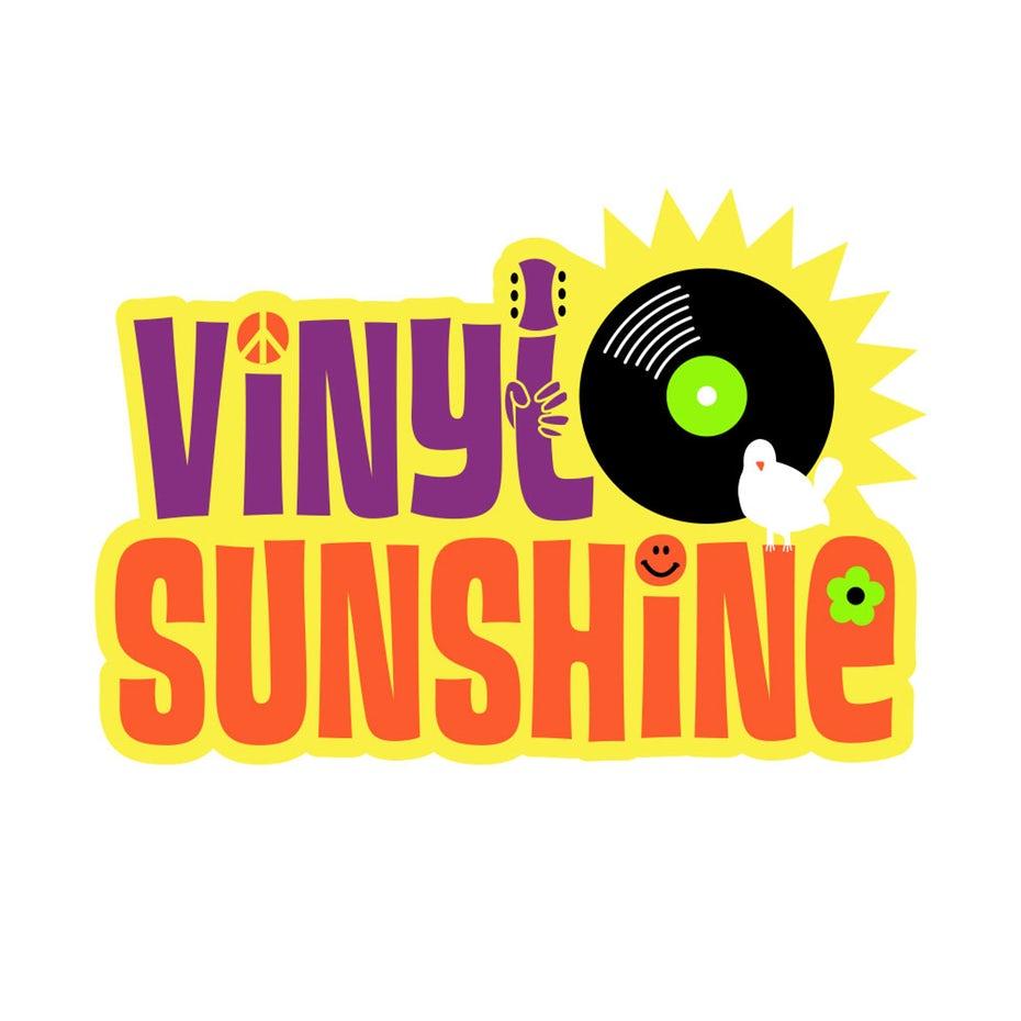 Vinyl Sunshine logo