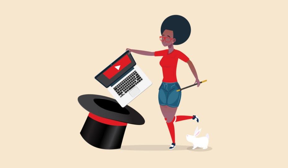 Иллюстрация женщины, которая вытаскивает ноутбук из шляпы &quot;width =&quot; 1024 &quot;height =&quot; 600 &quot;/&gt;    <figcaption> Откройте для себя магию привлечения зрителей с помощью своих видео! Иллюстрация OrangeCrush </figcaption></figure> <p> Это ключевые аспекты, на которые нужно обратить внимание, если вы хотите сделать привлекательное видео: </p> <ol> <li> Содержание </li> <li> Эмоции </li> <li> Съемка и редактирование </li> </ol> <div id=