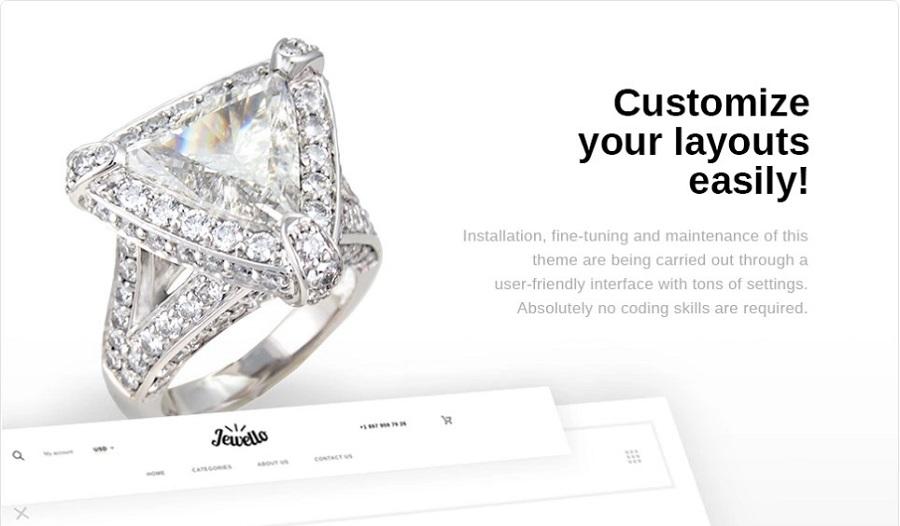 Jewellery Shop WooCommerce Theme