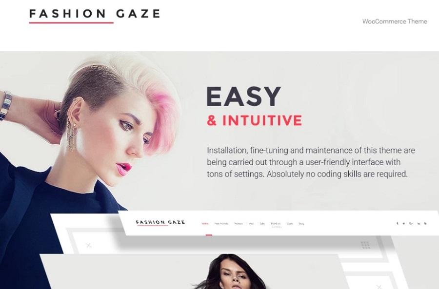 Fashion Gaze - Apparel Store WooCommerce Theme