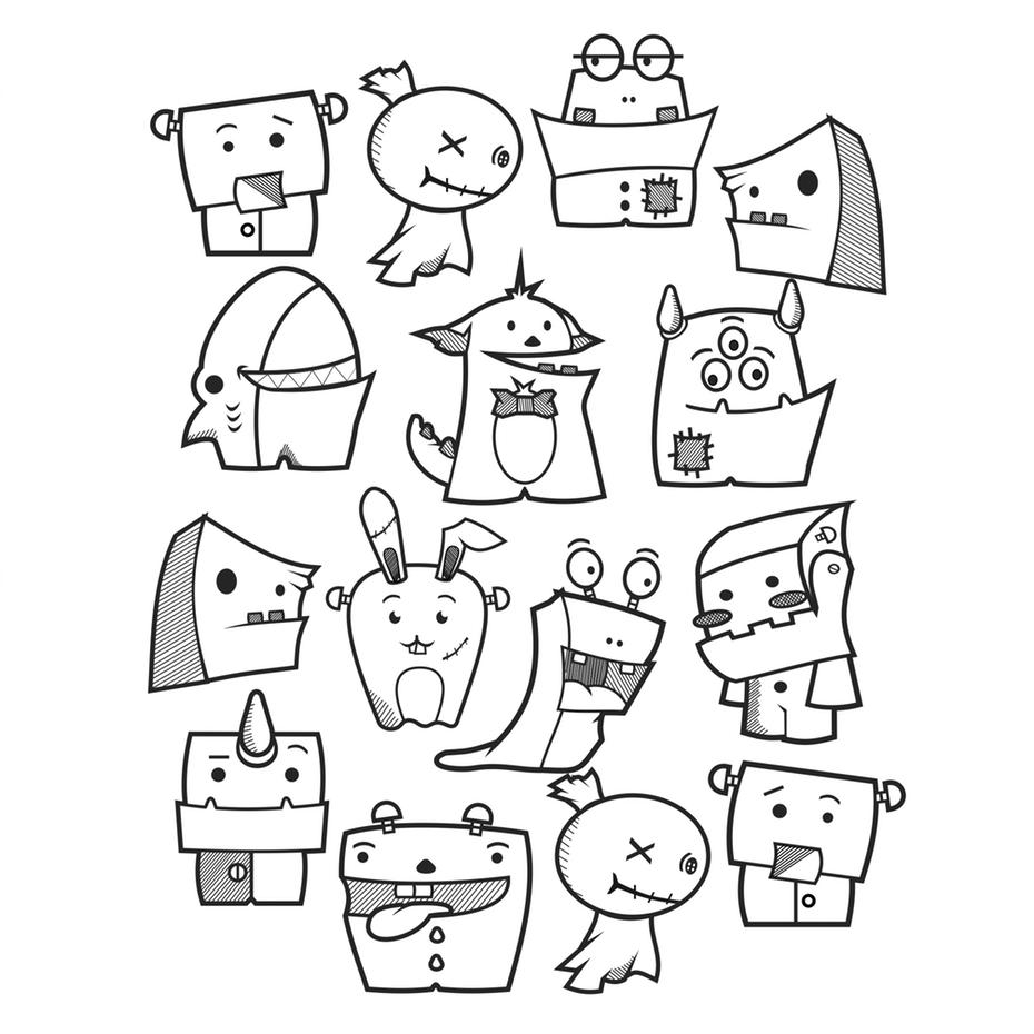 """черно-белый рисунок с изображением милых маленьких монстров """"width ="""" 2010 """"height ="""" 2009 """"/>    <figcaption> Не все ваши персонажи должны быть людьми! Посмотрите на этих очаровательных кукол по яркому свету </figcaption></figure> <p> Отличный способ сделать это — создать персонажей, вдохновленных персонажами ваших покупателей, представляющих вашу аудиторию, чтобы они могли узнавать себя в вашем видео. </p> <p> Если вы создаете персонажей, которые представляют собой визуальное представление вашей аудитории, вы помогаете своему сообщению резонировать с вашими зрителями, что придаст вашему законченному видео больше влияния. </p> <h2><span id="""