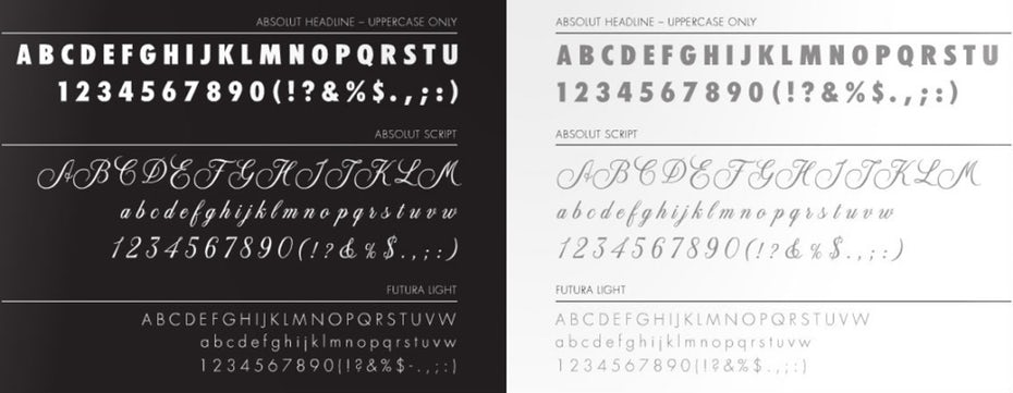 "absolut identity design typeface ""width ="" 1024 ""height ="" 397"