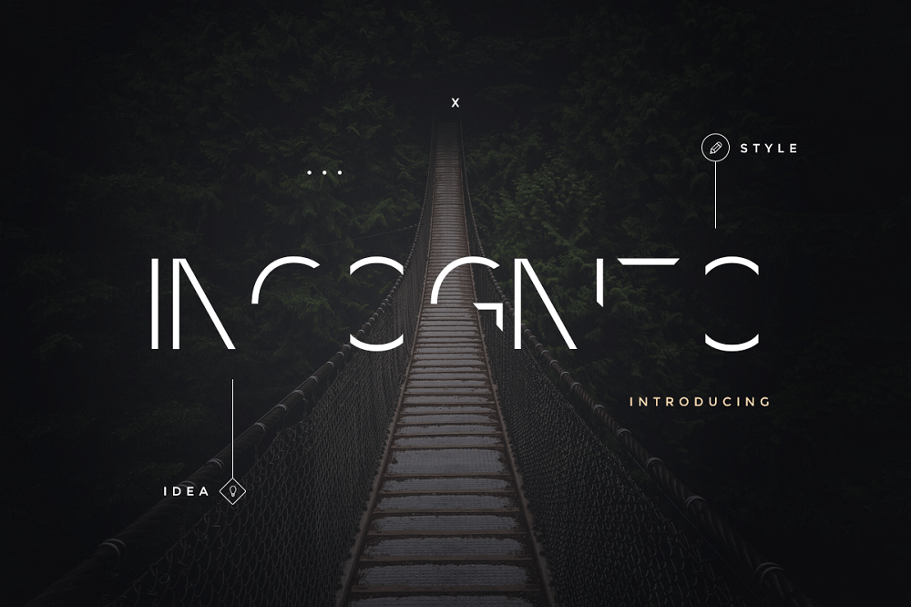 Incognito Font Pack Font