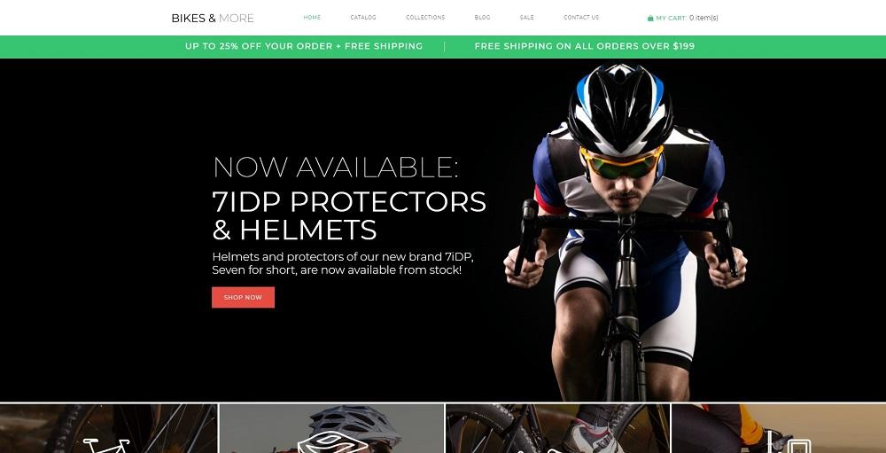Bikes & More - Bike Shop Modern Shopify Theme