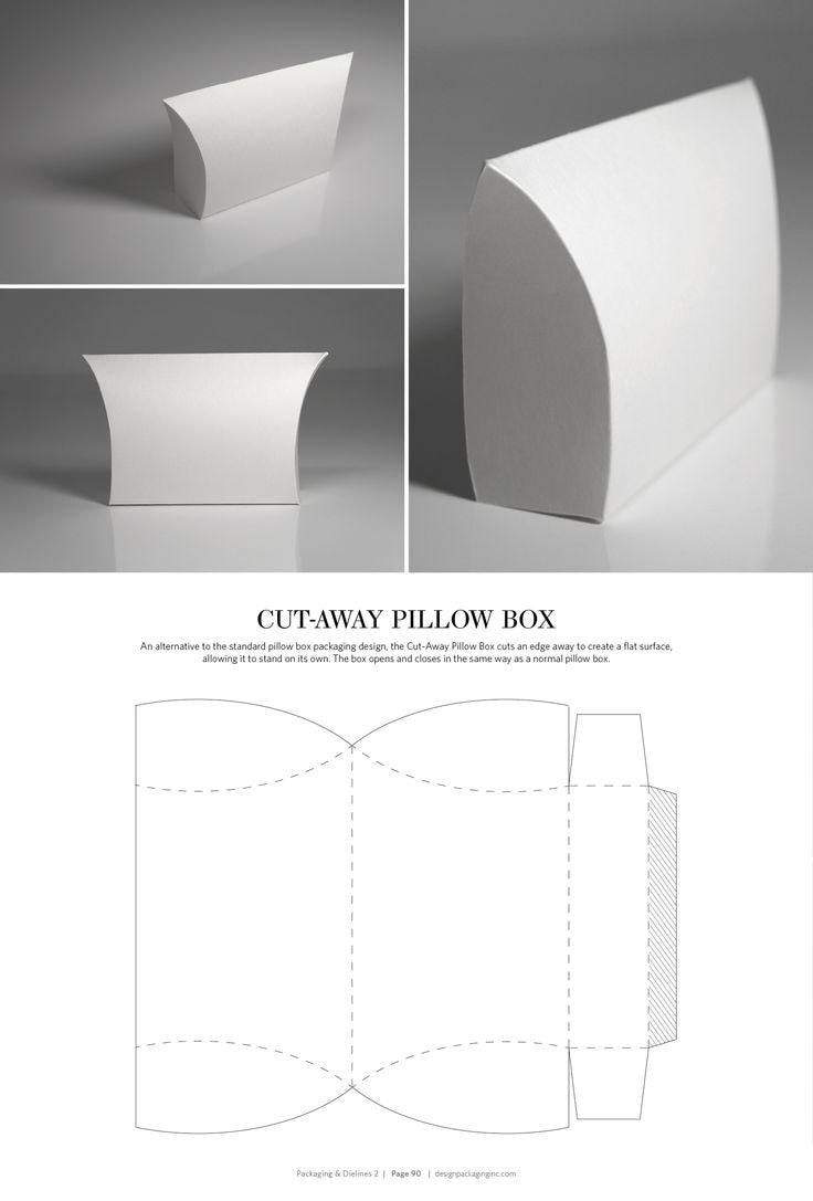 """Dielines для упаковки подушек в коробку """"width ="""" 736 """"height ="""" 1087"""