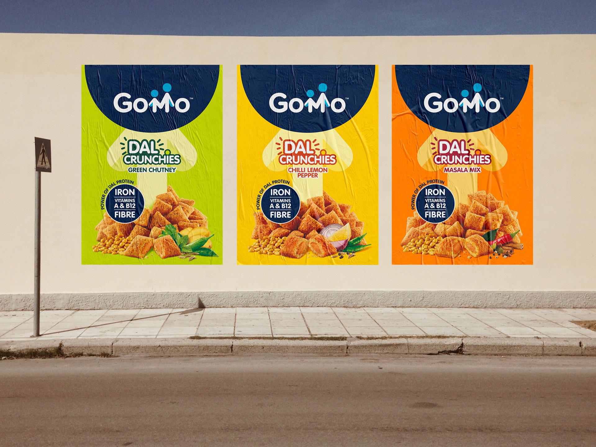 """GoMo Dal Crunchies """"class ="""" aimg lazyload """"/> </source> </picture> </figure> <p> Визуальное сокращение было разработано, чтобы охватить людей по всей Индии независимо от языка или грамотности. В связи с этим изображения ингредиентов играют жизненно важную роль на упаковке с цветами, которые представляют вкусные индийские ароматы и их питательные качества. А глубокий синий цвет был выбран в качестве основного цвета бренда во всех вариантах (Chili Lemon Pepper, Masala Mix, Green Chutney) для обеспечения согласованности и представления доверия и эффективности. </p> <p> «Мы полностью внедрились», добавил Фостер , «Нам пришлось потратить время на месте, чтобы полностью понять сложность индийского рынка. Крайне важно, чтобы мы оценили роль бренда, его аудиторию, и что все это было о том, чтобы быть безопасным, питательным и одобренным мамой». </p> <div class="""